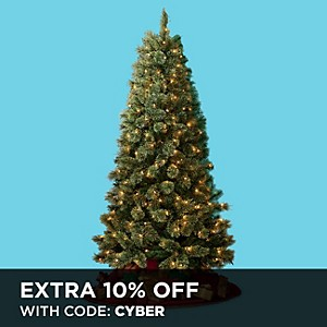 D&B 6.5 ft. slim Christmas Tree