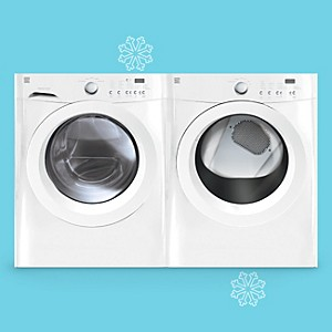Kenmore 3.9 cu. ft. Front-Load Washer & 7.0 cu. ft. Dryer Bundle