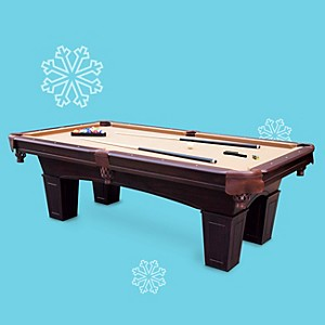 MD Sports 8' Crestmont billiard table