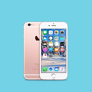 Apple APPLE IPHONE 6S 64GB ROSE GOLD FACTORY UNLOCKED WITH FREE SELFIE STICK