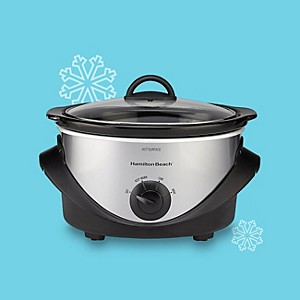Hamilton Beach 4-Quart Stainless Steel Slow Cooker