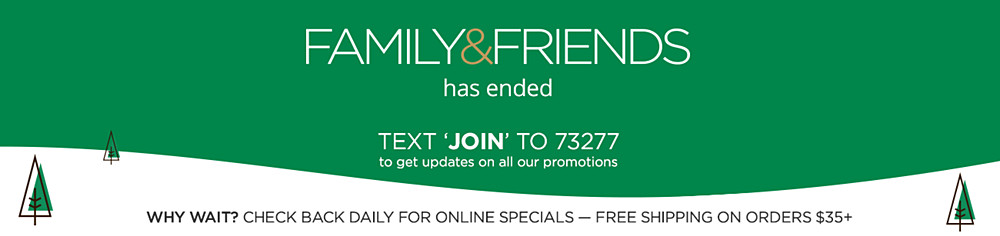 Family & Friends Has Ended