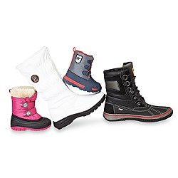 Cold weather and winter boots for the family