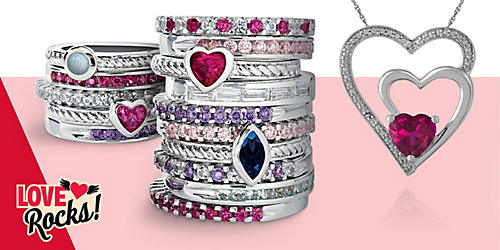 Bling on the love with fine jewelry, up to 75% off