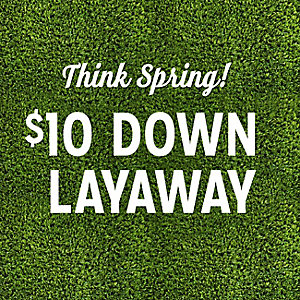 Spring ahead with layaway savings