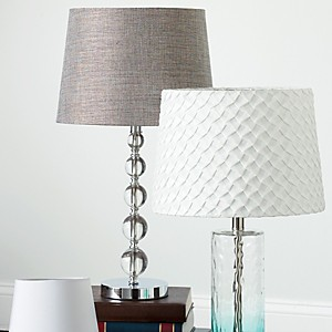 Mix & Match Lamp Shades & Lamp Bases