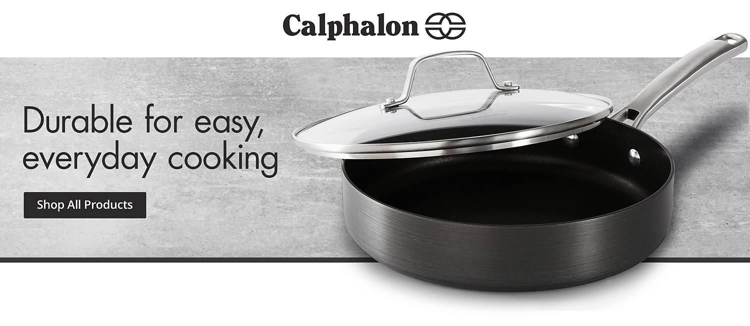 shop all calphalon shop nonstick cookware