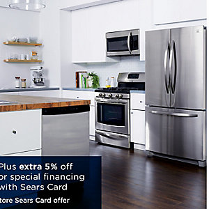 Up to 30% off all kitchen appliances