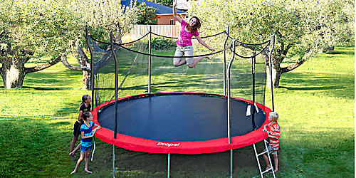 Beat boredom with up to 25% trampolines