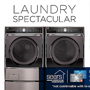 Get up to 40% off washers & dryers