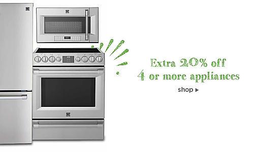 Extra 10% off 2-3 appliances, Extra 20% off 4+ appliances, use code: BUYMORE