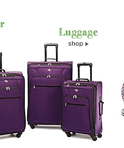 Extra 10% off Luggage