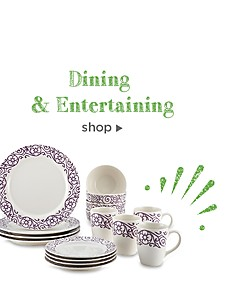 Extra 10% off Dining & Entertaining