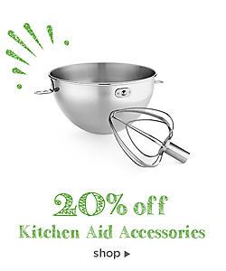 20% off Kitchen Aid Accessories
