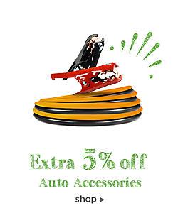 extra 5% off auto accessories