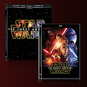 Star Wars: The Force Awakens DVD & Blu-ray
