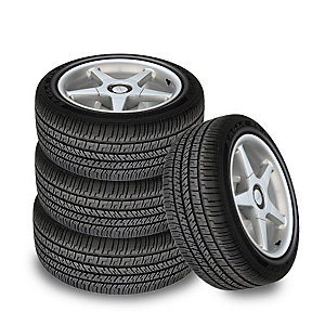 Save up to $250 in savings & value on 4 Goodyear tires