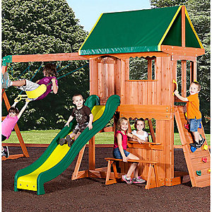 Create an outdoor play oasis