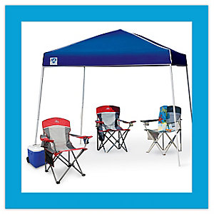 All camping gear on sale