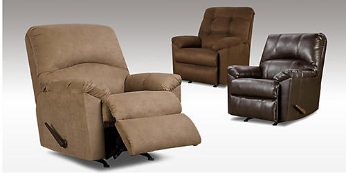 Recliners, $199