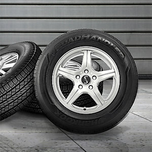Up to $250 off in savings on 4 RoadHandler tires