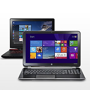 Up to 20% off Dell, HP & Lenovo laptops