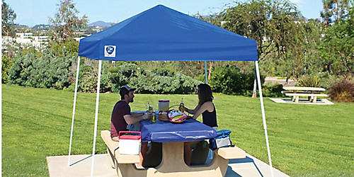 "Z-Shade Sport Canopy, 8x8x102""H, now $37.99"