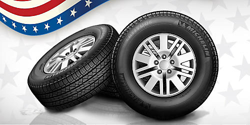 25% off 4 in-stock tires with alignment
