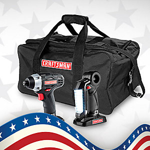 Up to 40% off Craftsman tools over $50
