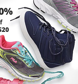 Starting at $19.99 All Athletic Shoes & Sneakers on Sale