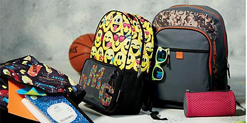 Save 35–50% on character & fashion backpacks