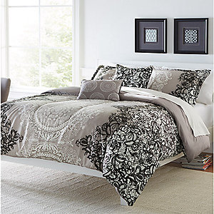 New! Colormate 5piece comforter sets