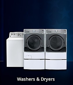Up to 35% off washers and dryers