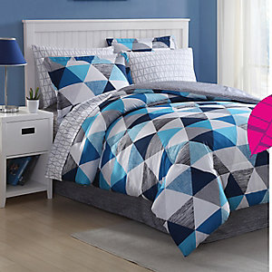 Essential Home complete bed sets, $34.99 twin or full  PLUS members get an additional $5 back in points*