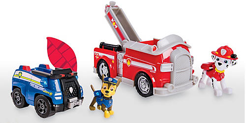 Buy One, Get One 50% off all Paw Patrol toys