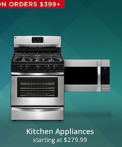 30 - 40% off Kenmore Kitchen Appliance