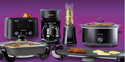 New Kenmore small kitchen appliances & cookware collection, $19.99 & up