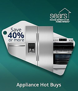 Save 40% or more on these appliance hot buys