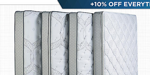 50–60% off top mattress brands