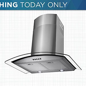 30% off range hoods & more