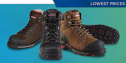 Craftsman work boots, $89.99 & up