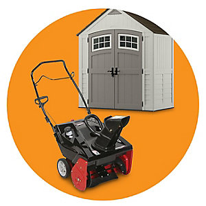 Extra 10% off mowers, sheds, snow removal & more