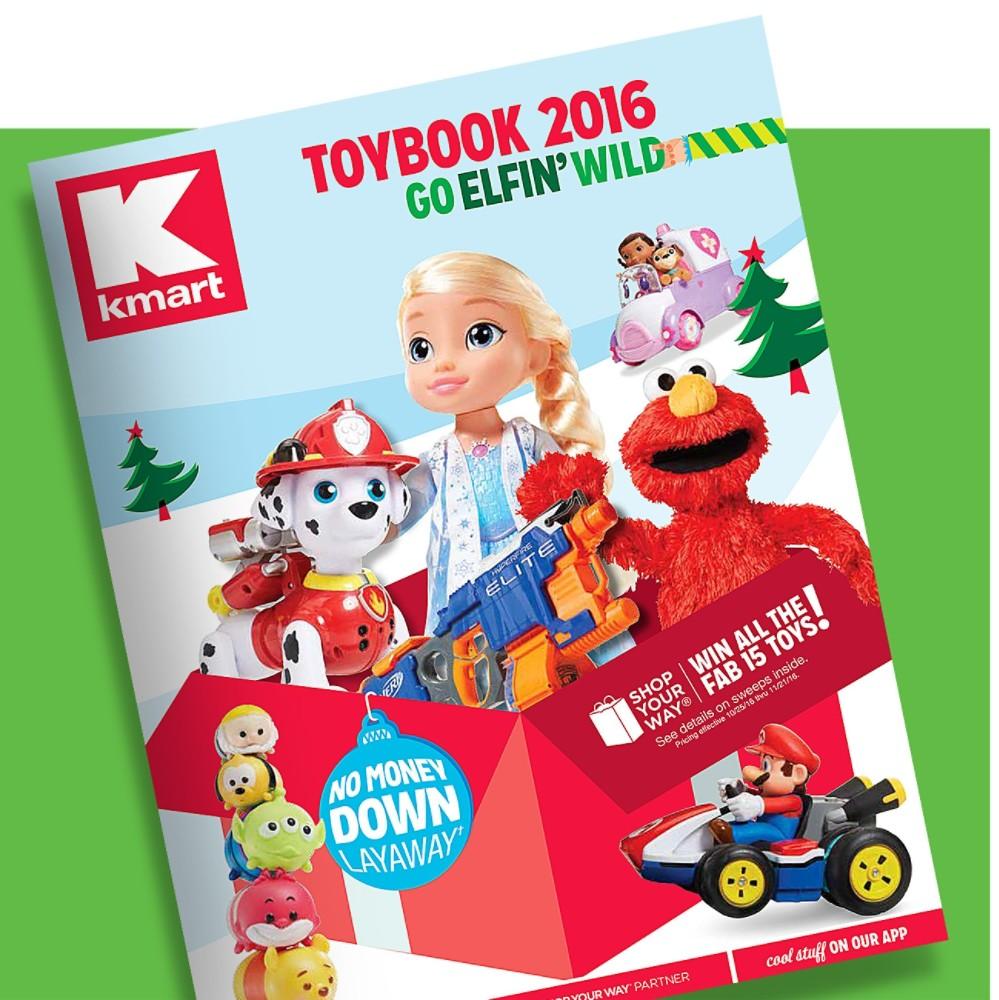 Kmart 2016 Toybook