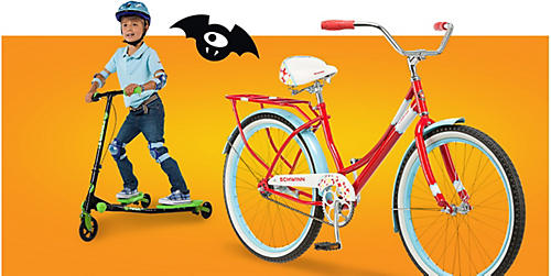 Save 20% or more on bikes & scooters