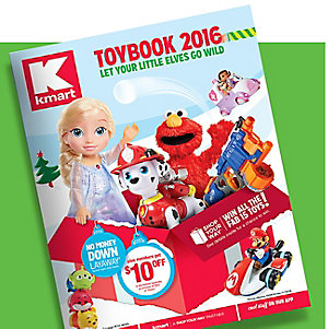 2016 Kmart ToyBook is here
