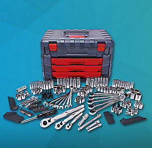 Craftsman 254 PC Mechanics Tool Set w/ 75 Tooth Ratchet Sale $169.99, Reg $299.99