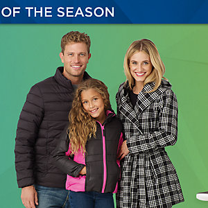 Up to 55% off Coats and Cold Weather Accessories