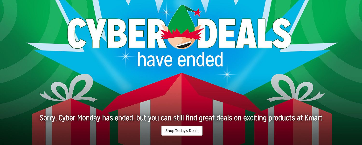 Cyber Deals have ended