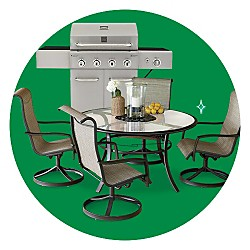 Extra 10% off Patio Furniture & Gas Grills
