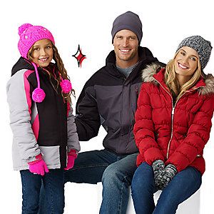 Up to 50% off Coats for the Family | Bundle up the family with low prices
